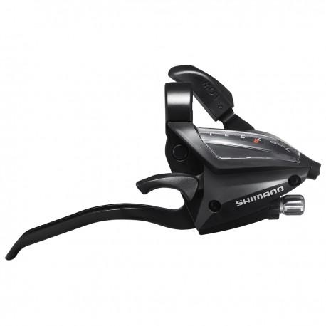 Levier+manette SHIMANO vtc vtt 7v EF500 V-brake Droite 3D noir
