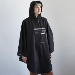 Poncho impermèable THEPEOPLE'SPONCHO polyester RainCare Hardy noir