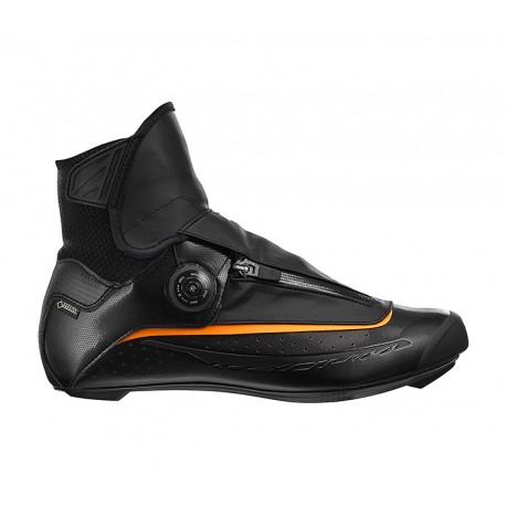 Chaussures MAVIC route hiver Ksyrium Pro Thermo noir décor jaune