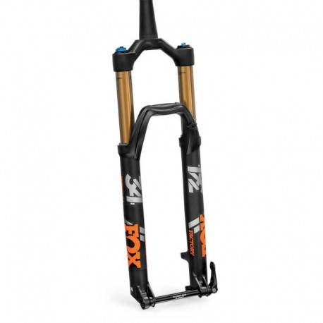 Fourche vtt 29p Fox-Racing-Shox 2020 34 Float 29 Factory 130 Boost CTD Kashima Adjust FIT4 Disc noir décor orange