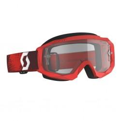 Masque SCOTT vtt et bmx Hustle X MX rouge décor blanc