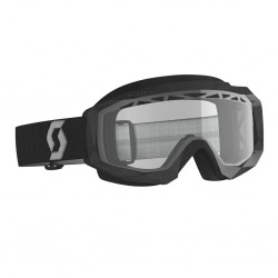 Masque SCOTT vtt et bmx Hustle X MX noir décor gris