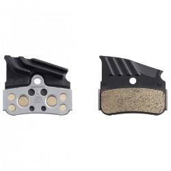 Plaquettes de frein SHIMANO support acier N04C avec ventilation