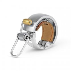 Sonnette KNOG métal Oi Bell Luxe Small 22.2 argent