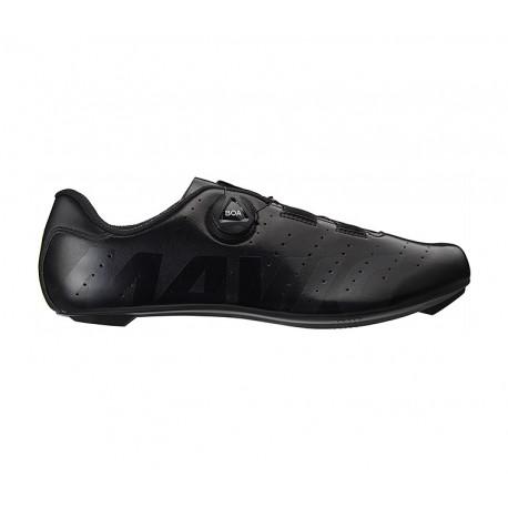 Chaussures MAVIC route Cosmic Boa noir verni