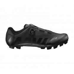 Chaussures MAVIC vtt Crossmax Boa noir mat décor verni