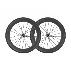 Roues à pneu 700 MAVIC route Comete Pro Carbon UST Disc CL 25 noire