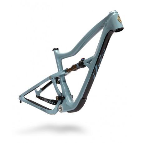Cadre vtt 29p IBIS carbon Ripley 4/29 Boost 148 bleu acier décor noir