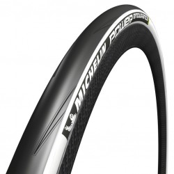Pneu 700 MICHELIN route Power Endurance Protek+ noir flancs blancs