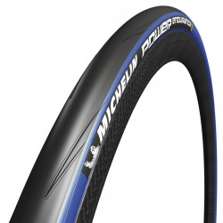 Pneu 700 MICHELIN route Power Endurance Protek+ noir flancs bleus