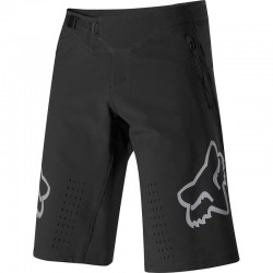 Short FOX vtt Defend noir décor gris