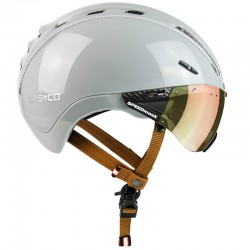 Casque CASCO ville et route Roadster Plus gris perle brillant