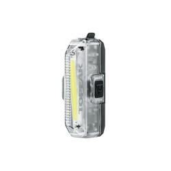 Feu avant TOPEAK usb WhiteLite Aero USB 1W
