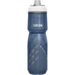 Bidon isotherme CAMELBAK Podium Chill 0.7 Litre transparent décor bleu nuit