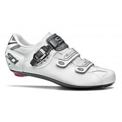 Chaussures SIDI route Genius 7 blanc mat décor argent
