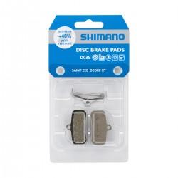 Plaquettes de frein SHIMANO support acier D03S sans ventilation