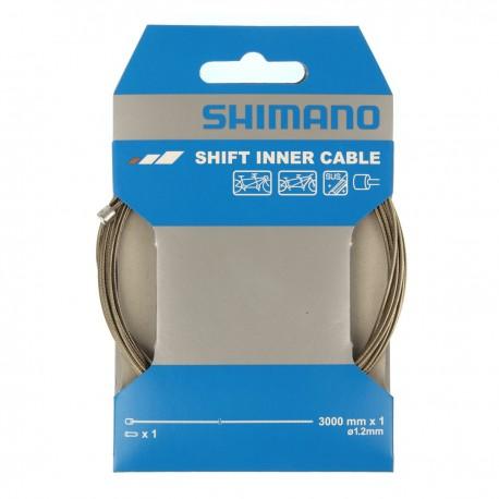 Cable de dérailleur SHIMANO acier inox Dura-ace 1.2mm pour Tandem ...