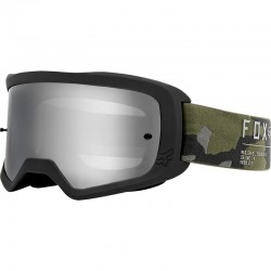 Masque FOX vtt Main 2 Gain noir décor camouflage