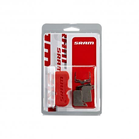 Plaquettes de frein SRAM support acier Road / vtt Level Ultimate
