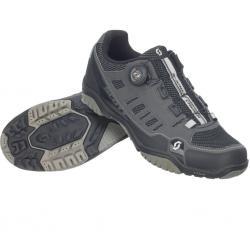 Chaussures SCOTT vtt Crus-R Boa gris anthracite décor noir