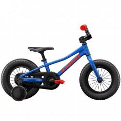 Vélo VTT garçon 2 à 5 ans 12p alu - TREK 2021 Précaliber 12 Boys - Bleu royal Décor orange