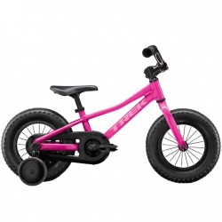 Vélo 2 à 5 ans TREK Precaliber 12 Girls - Rose flamingo / Decor rose - Enfant