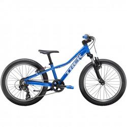 Vélo VTT garçon 6 à 9 ans alu - TREK 2021 Précaliber 20 Boys - Bleu Alpine Décor gris Quicksilver