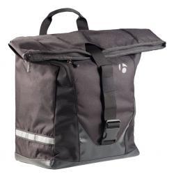 Sacoche BONTRAGER arrière latérale Town Shopper L noir sur porte-bagage