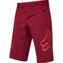 Short FOX vtt Defend rouge bordeaux