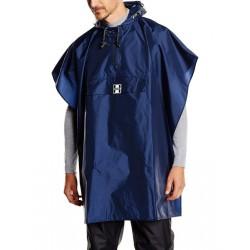 Poncho impermèable HOCK nylon RainCare bleu marine