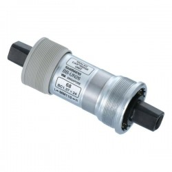 Boitier pédalier SHIMANO axe carré UN26 - BSC - larg. 68mm - long.113mm.