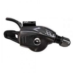 Manette de dérailleur SRAM vtt 11v GripShift XX1 Droite noire décor noire