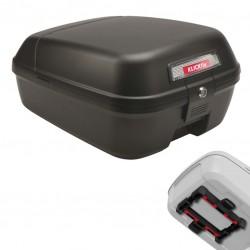 Coffre arrière KLICKFIX pvc rigide City Box UniKlip noir