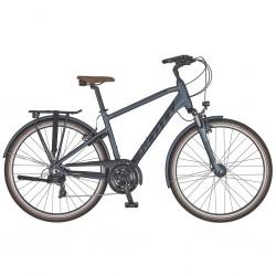 Vélo urbain SCOTT 2020 Sub Comfort 20 - Gris anthracite / Décor noir - Roues de 28 pouces