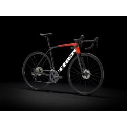 Vélo course TREK 2021 Emonda SL 6 - Noir et rouge / Décor blanc