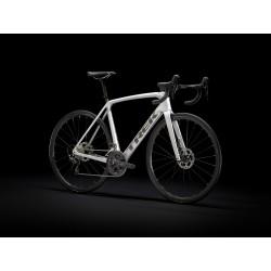Vélo course TREK 2021 Emonda SL 5 Disc - Gris champagne / Décor noir