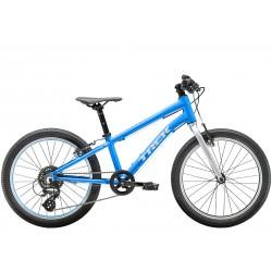 Vélo enfant 6 à 9 ans - TREK 2021 Wahoo 20 - Bleu Waterloo / Décor argent - Garçon