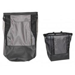 Sac marché BURLEY infèrieur Lower Market Bag 40 noire décor gris
