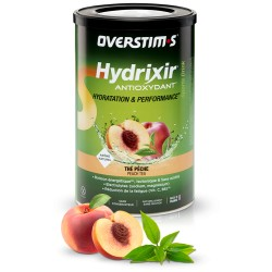 Boisson OVERSTIM'S de l'effort - 600 gr - Hydrixir Antioxydant Thé-Pêche - sans acidité - POT.