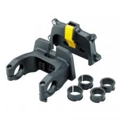 Support de guidon TOPEAK fixation Fixer-3E VAE QuickClick de 25.4 à 31.8mm