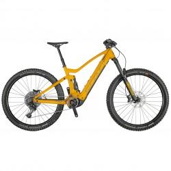 Vélo électrique VTT 29p SCOTT 2021 alu Génius eRide 930 1125 orange décor noir