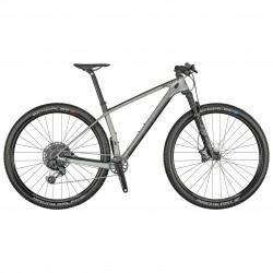 Vélo VTT 29p carbone - SCOTT 2021 Scale 910 ASX - Gris décor noir