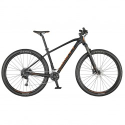 Vélo VTT 29p alu - SCOTT 2021 Aspect 940 - Noir décor rouge