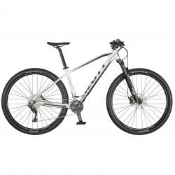 Vélo VTT 29p alu - SCOTT 2021 Aspect 930 - Blanc décor noir