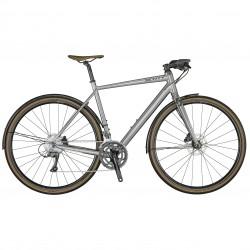 Vélo course fitness 700 alu - SCOTT 2021 Métrix 30 EQ - Gris foncé brillant décor gris anthracite mat