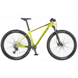 Vélo VTT 29p alu - SCOTT 2021 Scale 980 - Jaune néon décor noir