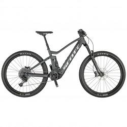 Vélo électrique VTT 29p SCOTT 2021 alu Strike eRide 930 625 noir pailleté décor gris argent