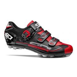 Chaussures SIDI vtt Eagle 7 noir mat décor rouge