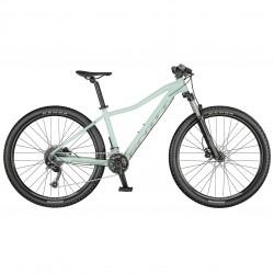 Vélo VTT femme 27.5p alu - SCOTT 2021 Contessa Active 40 - Vert d'eau pastel décor gris clair