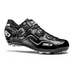 Chaussures SIDI vtt Cape noir verni décor gris